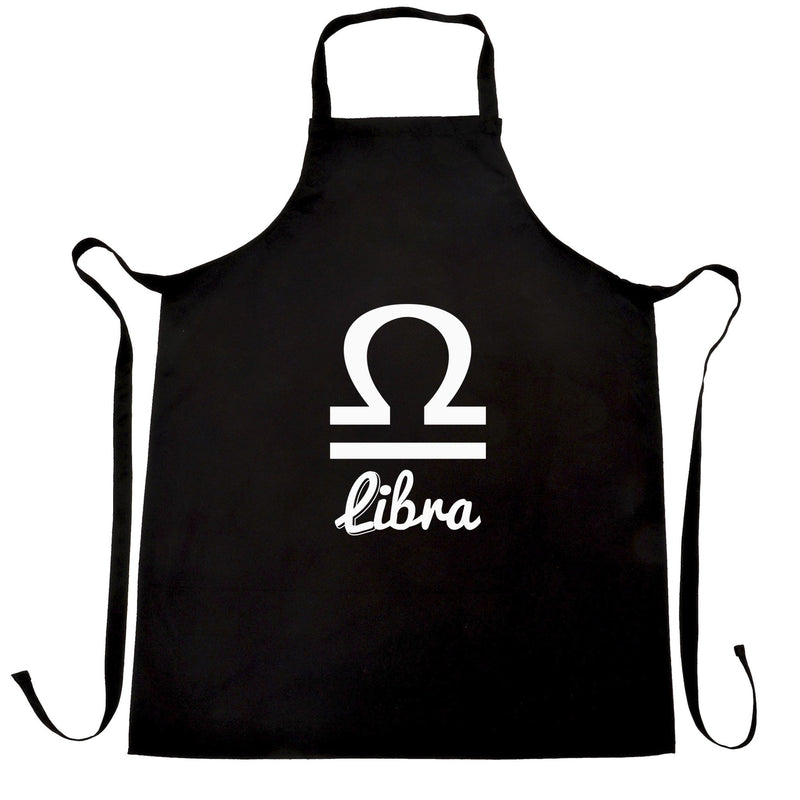 Horoscope Chefs Apron Libra Zodiac Star Sign Birthday