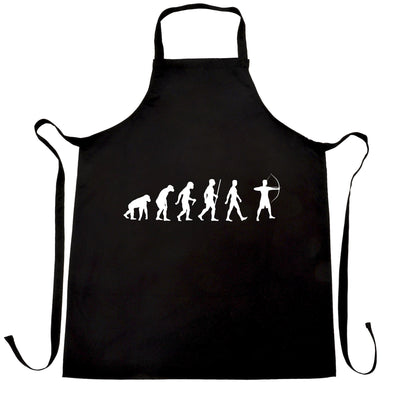 Novelty Chef's Apron The Evolution of Archery