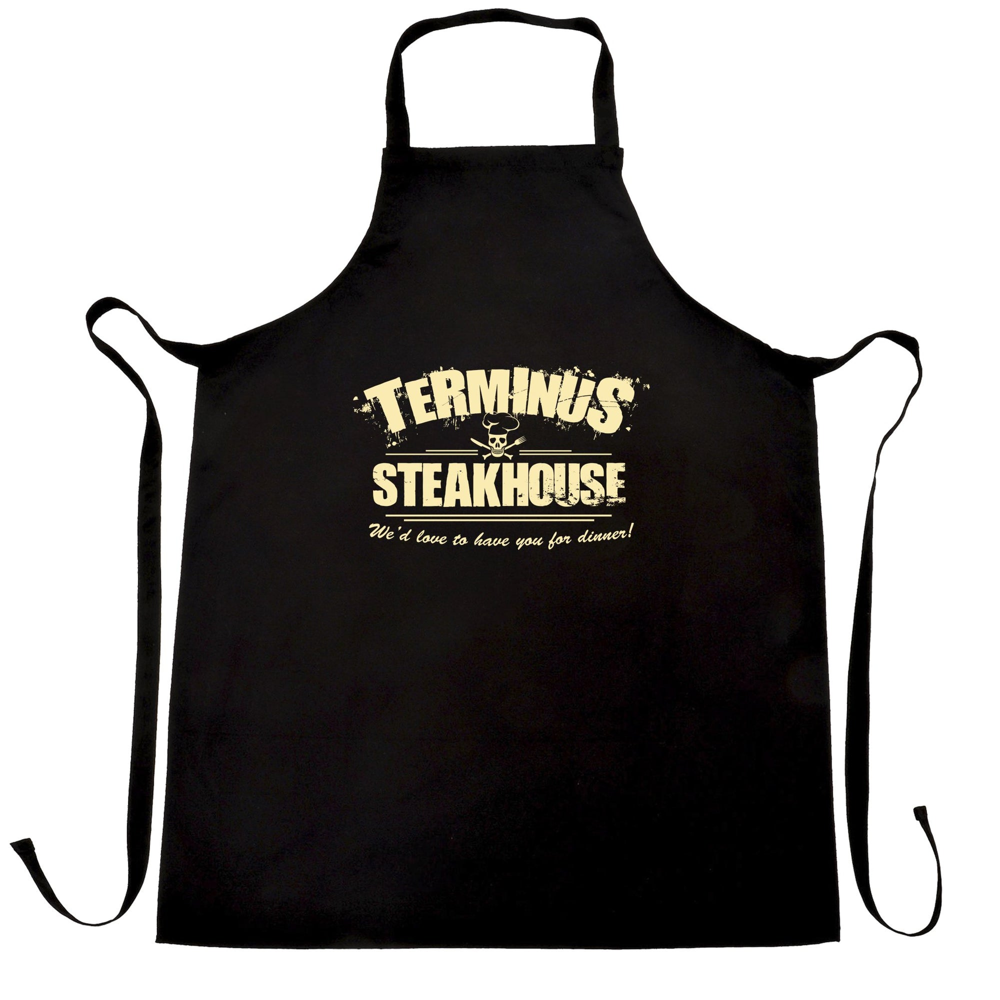 Terminus Steakhouse Apron Inspired by the walking dead