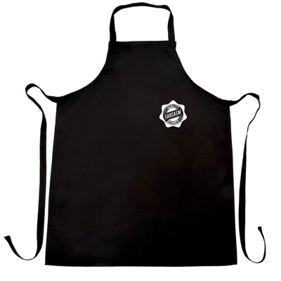 Novelty Logo Chef's Apron Quality Sarcasm Assured Stamp