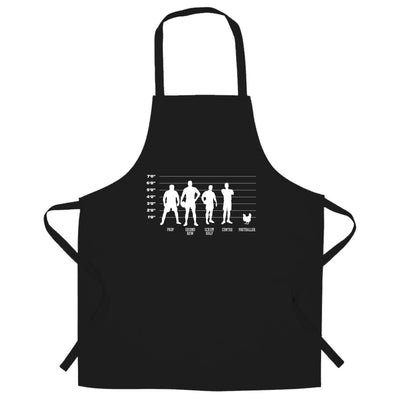 Joke Sports Chef's Apron Rugby Vs Football Chicken Lineup