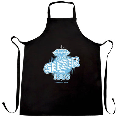 53rd Birthday Chefs Apron Diamond Geezer Since 1965