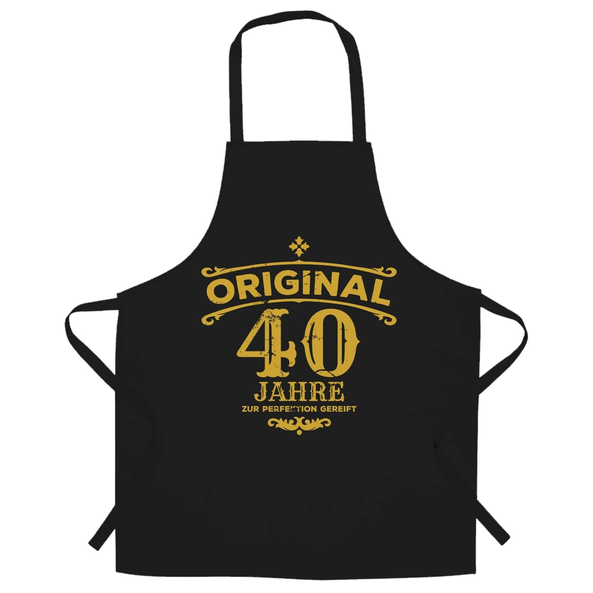 40th Birthday Chef's Apron Original Aged Forty 40 Years