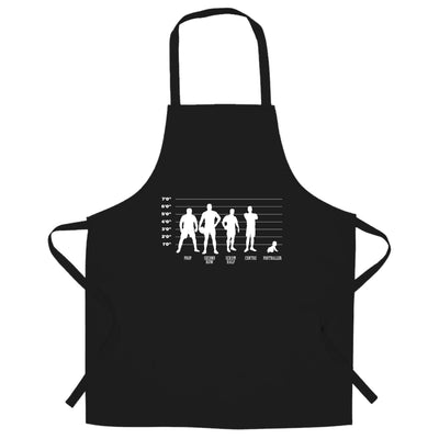 Novelty Sports Chef's Apron Rugby Vs Football Baby Lineup