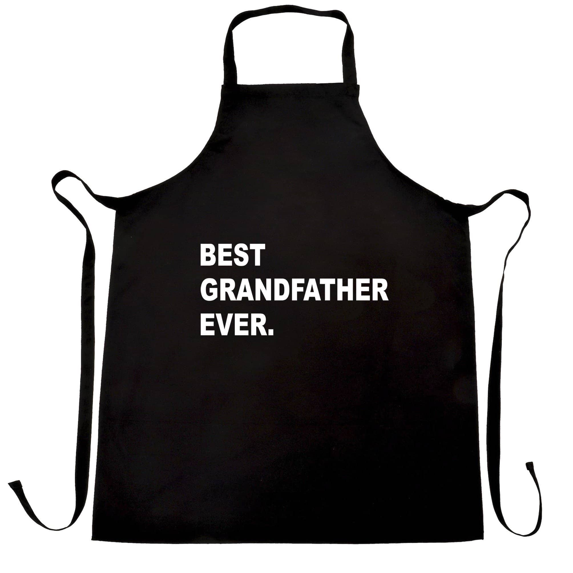 Best Grandfather Ever Chef's Apron Parent Family Slogan
