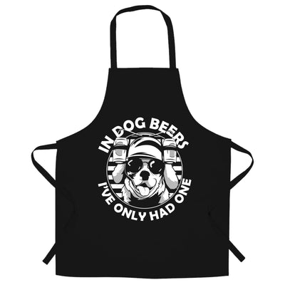 In Dog Beers, I've Had One Chef's Apron