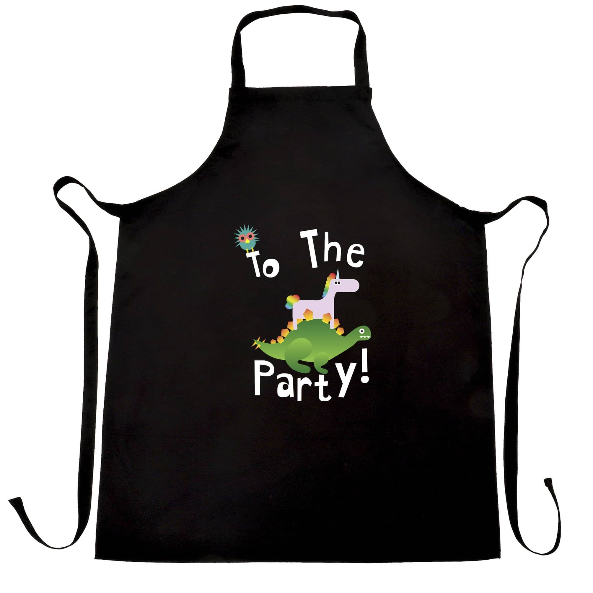 Novelty Birthday Chef's Apron To The Party Stegosaurus