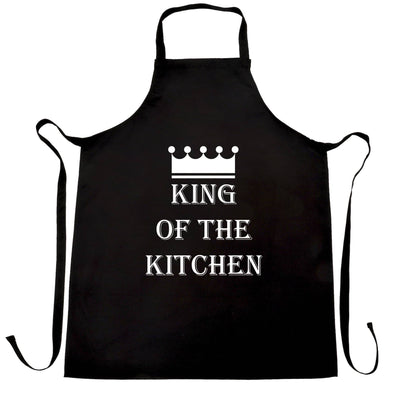 Chef's Cooking Chefs Apron King Of The Kitchen Slogan