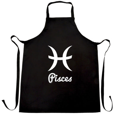 Horoscope Chef's Apron Pisces Zodiac Star Sign Birthday