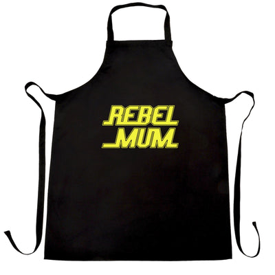 Movie Parody Chef's Apron Rebel Mum Slogan