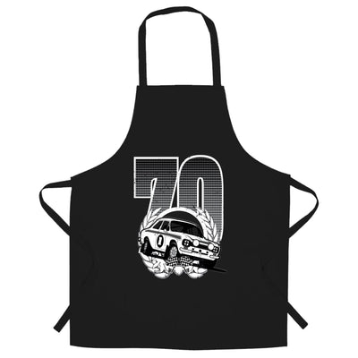 Racing Chef's Apron Classic Rally Car Retro 70