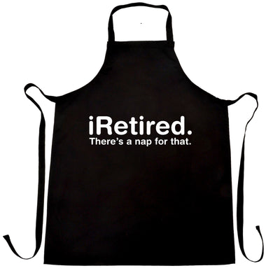 Retirement Chef's Apron i-Retired, There's A Nap For That