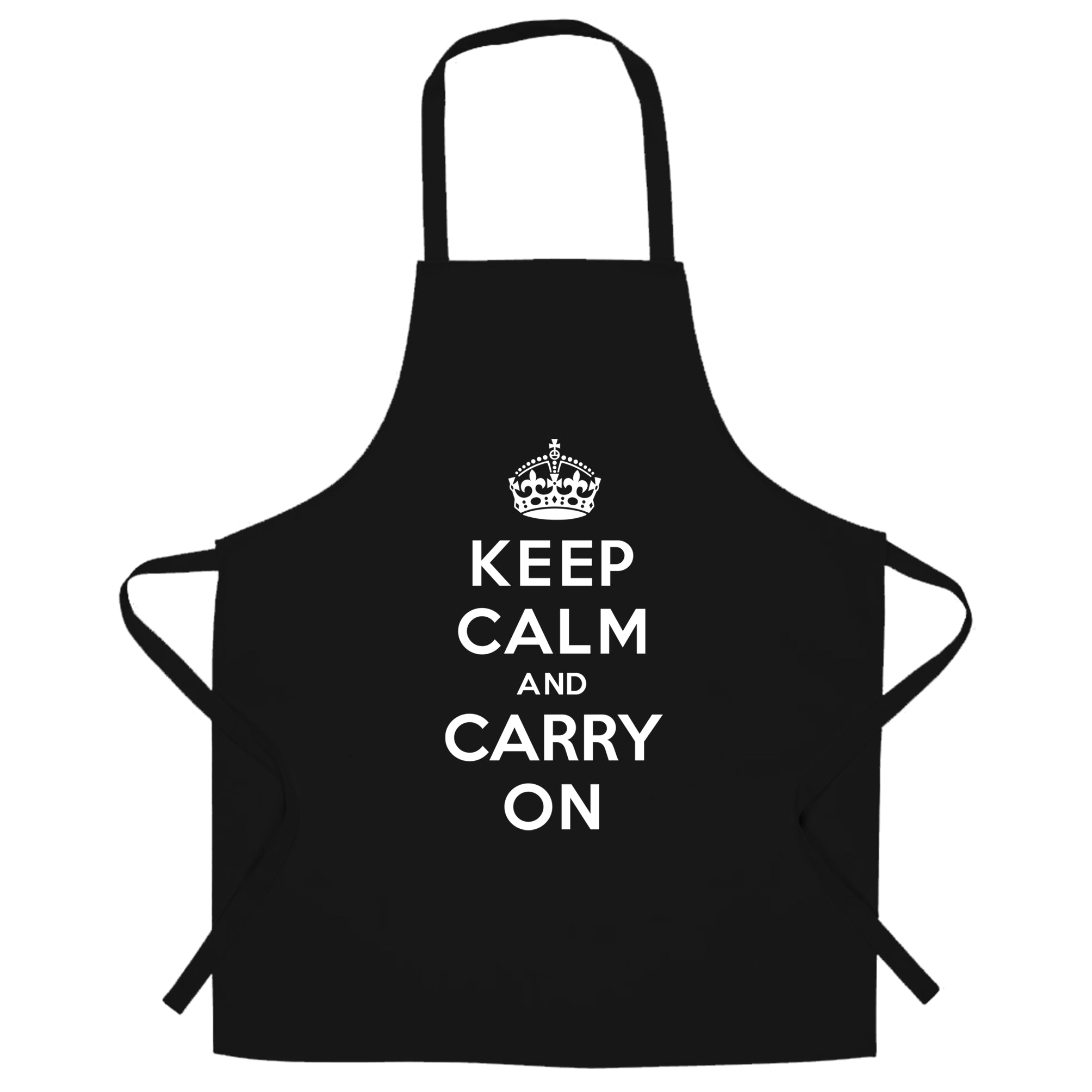 Keep Calm and Carry On Chef's Apron