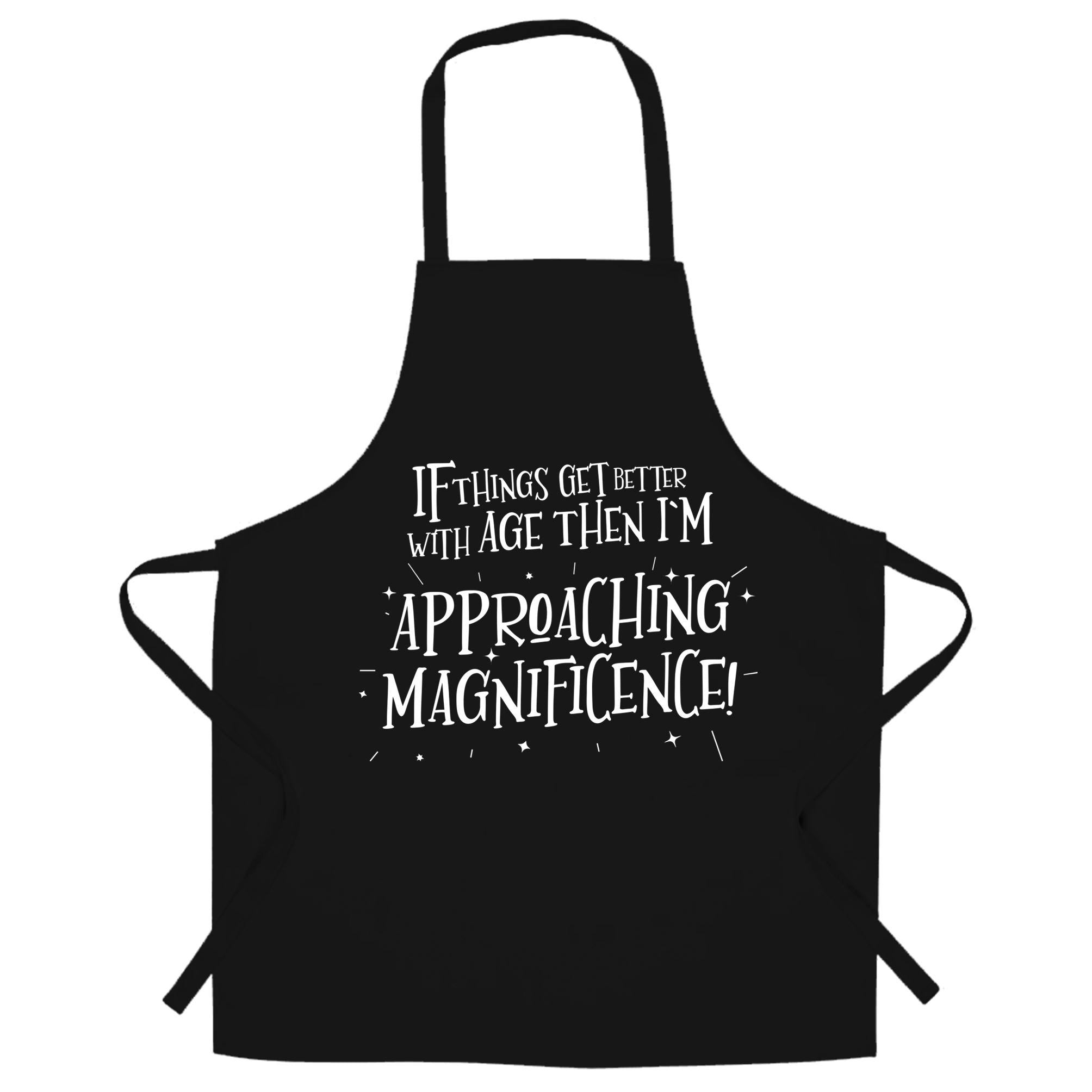 Birthday Chef's Apron Things Get Better With Old Age