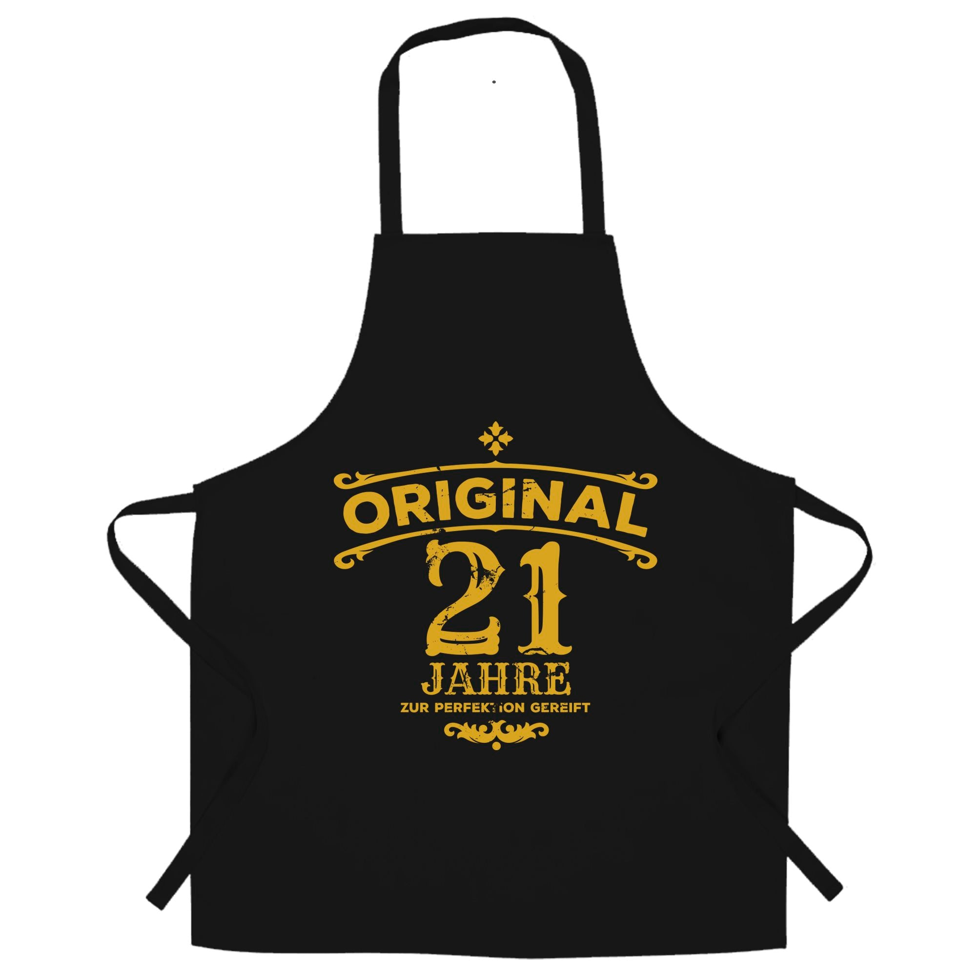 21st Birthday Chef's Apron Original Aged Years Twenty One