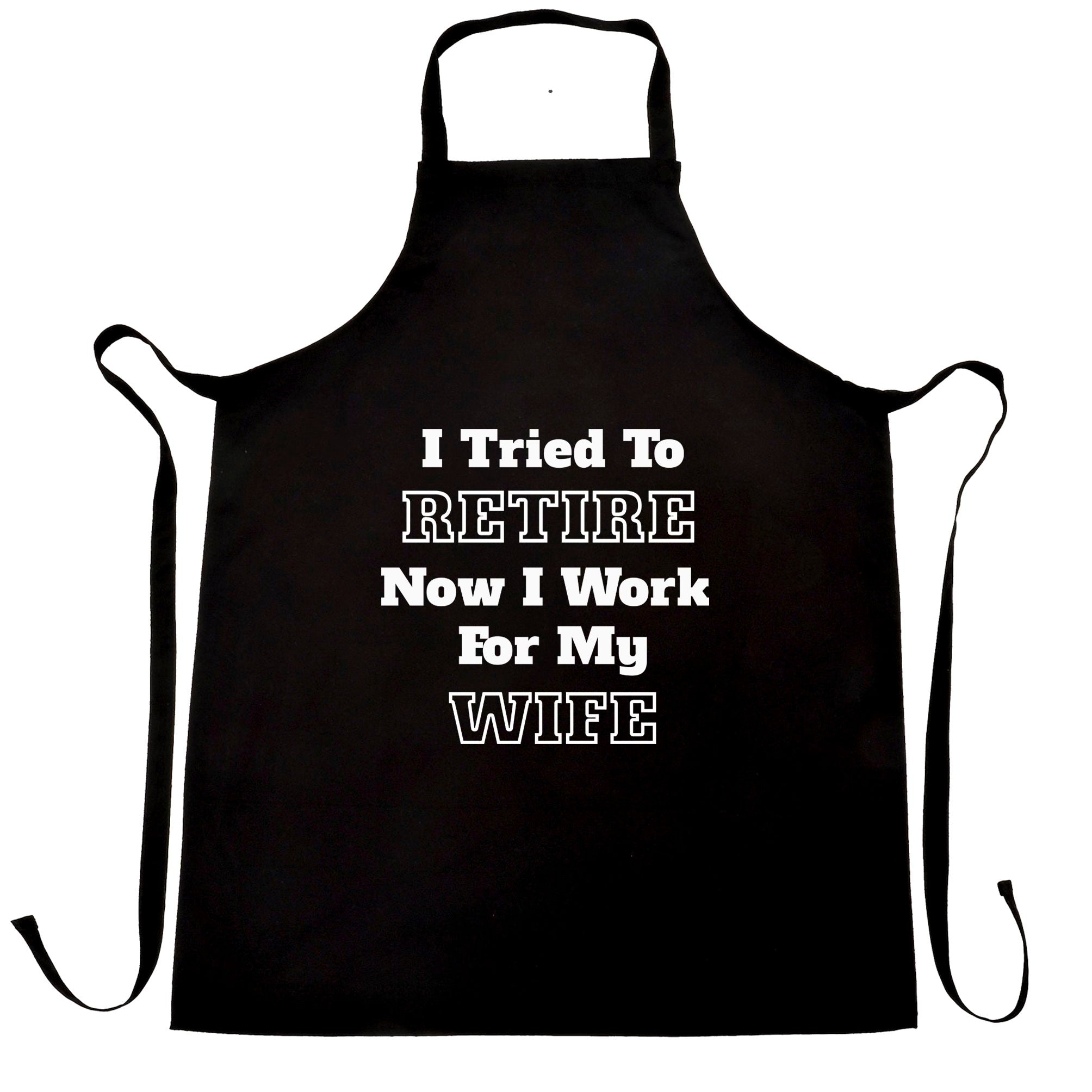 Funny Retirement Chef's Apron I Tried to Retire...