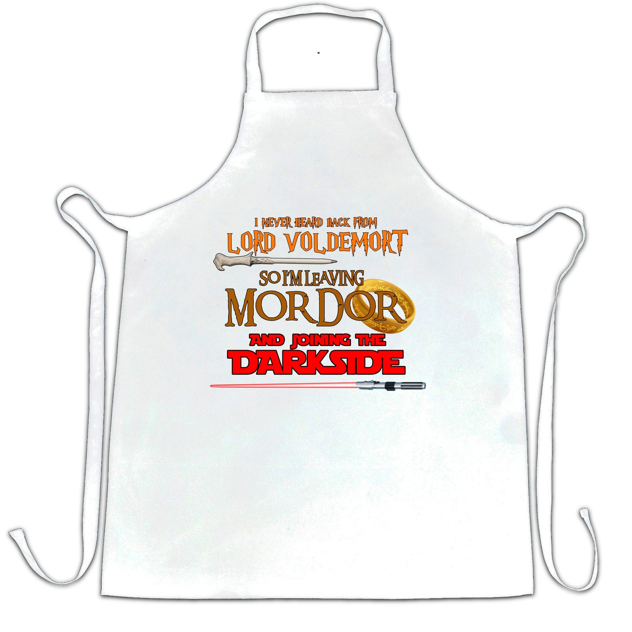 Voldemort, Mordor, Dark Side Chef's Apron