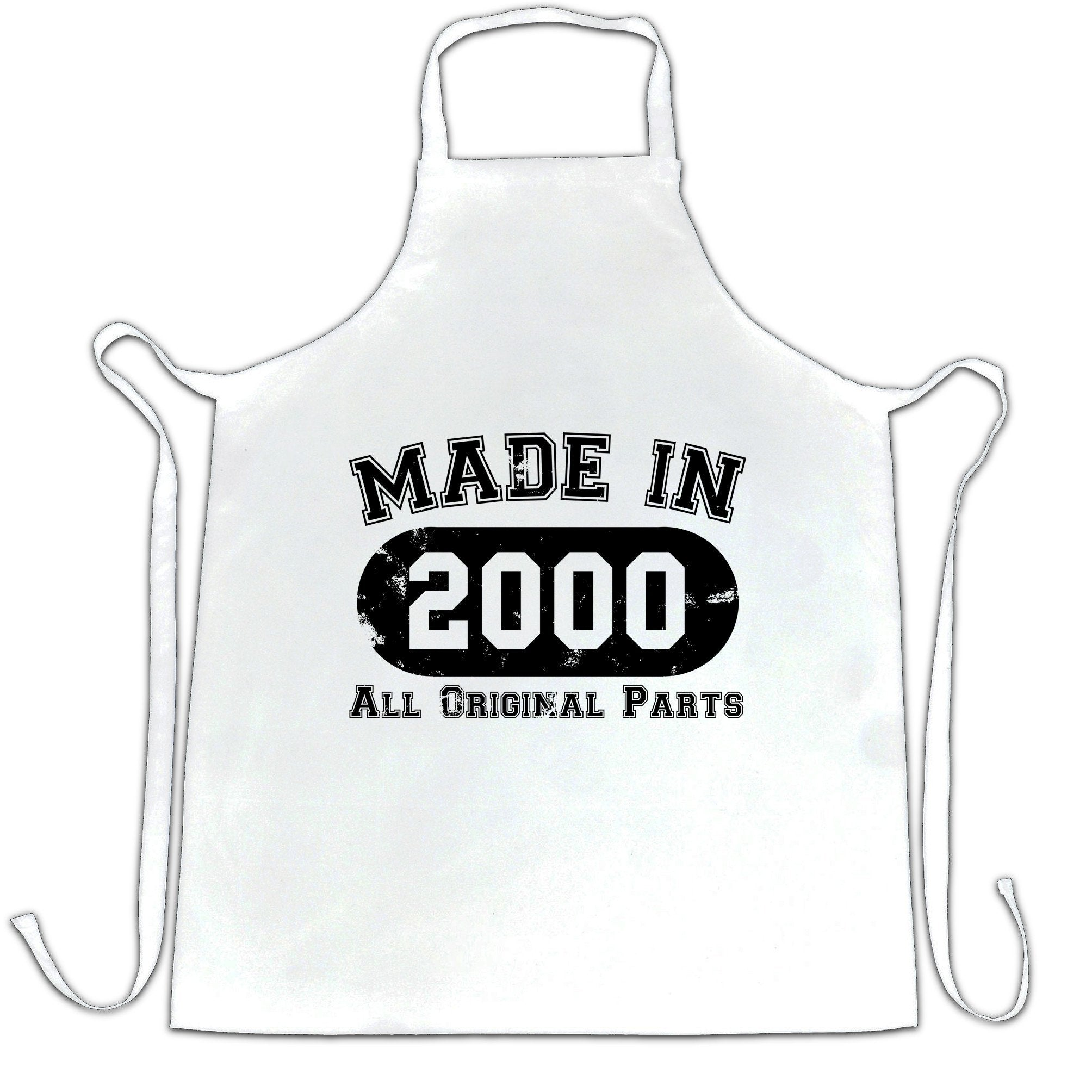 Made in 2000 All Original Parts Apron [Distressed]