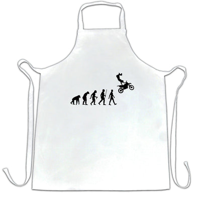 Sports Chef's Apron The Evolution Of Motocross Jumping