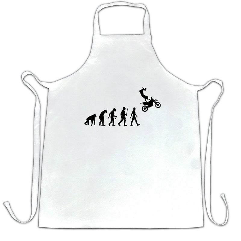 Sports Chefs Apron The Evolution Of Motocross Jumping