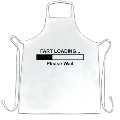 Novelty Chef's Apron Fart Loading Bar Please Wait