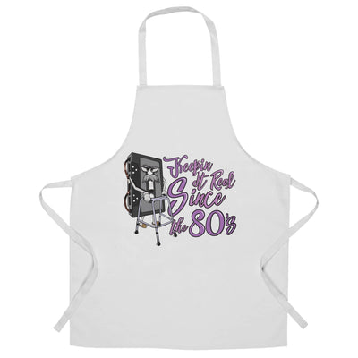 80's Birthday Chef's Apron Keeping It Real SInce The 80's