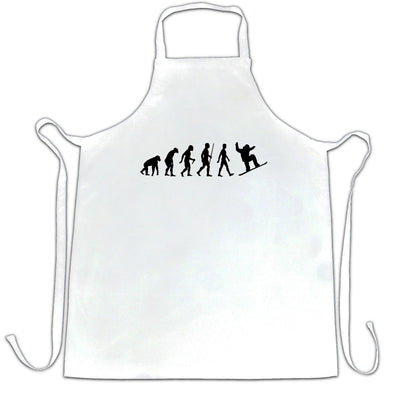 Sports Chef's Apron The Evolution Of A Snowboarder