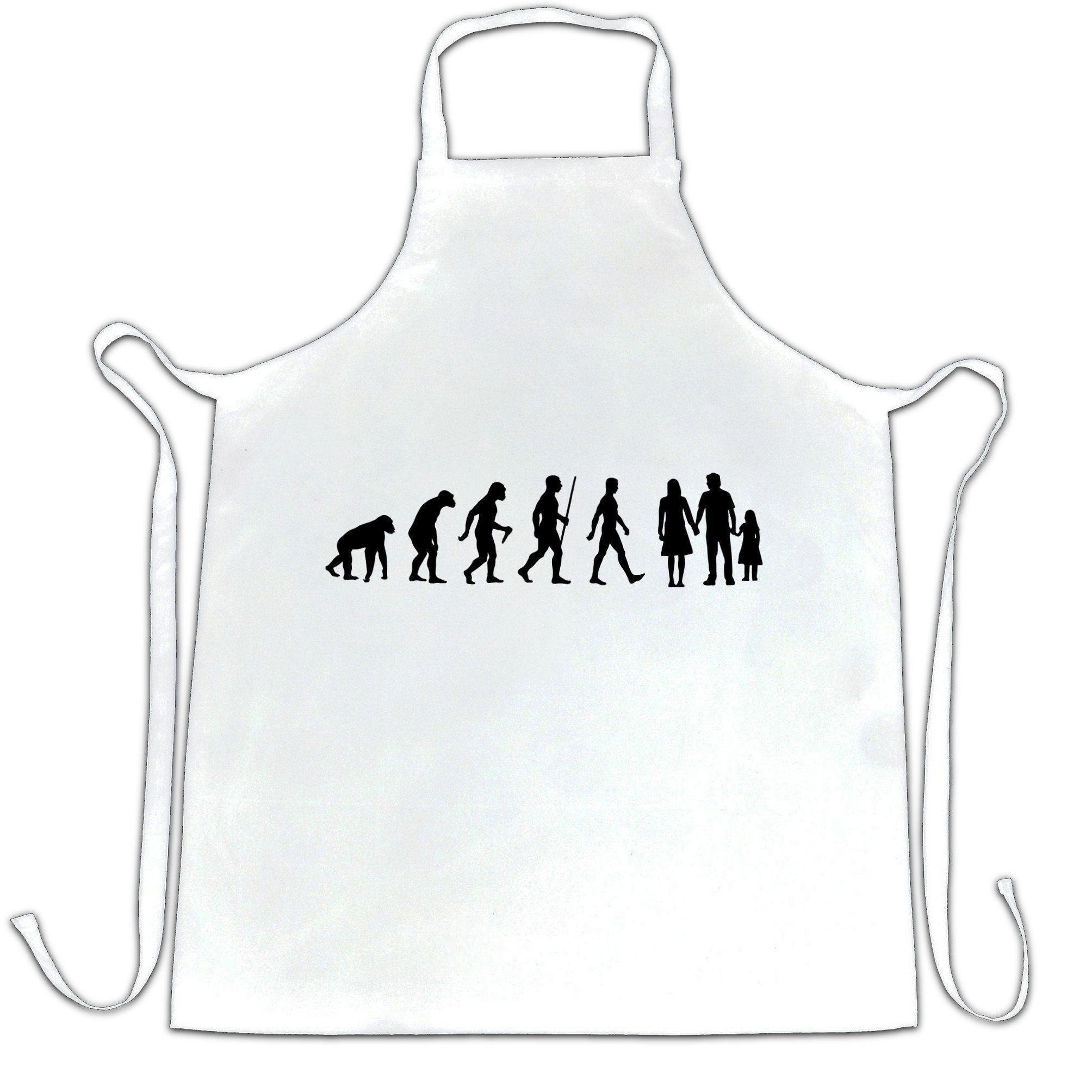 Parenthood Chef's Apron Evolution Of A Family Two Girls