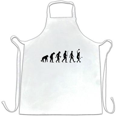 Sports Chef's Apron Evolution Of A Tennis Player