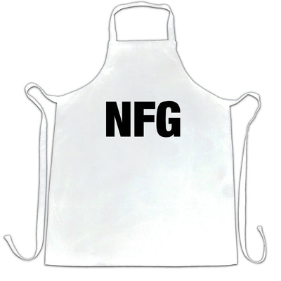 Rude Adult Slogan Chef's Apron NFG No F*cks Given