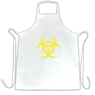 Warning Logo Chef's Apron Biohazard Symbol