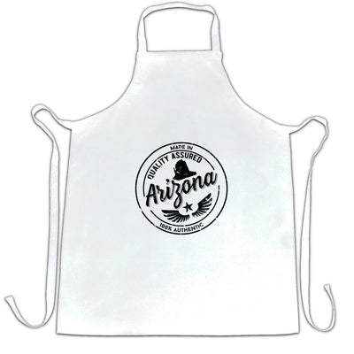 Hometown Pride Chefs Apron Made in Arizona Stamp