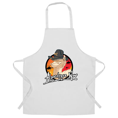 Film Parody Chef's Apron Alpacalypse Now Alpaca Vegan