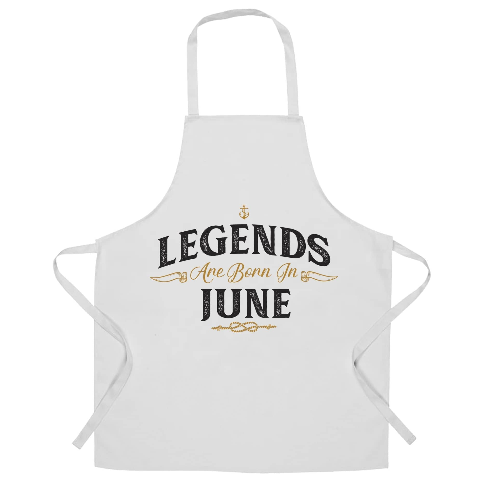 Birthday Chefs Apron Legends Are Born In June