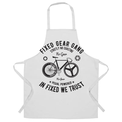 Cycling Chef's Apron Fixed Gear Gang Cyclist Biker