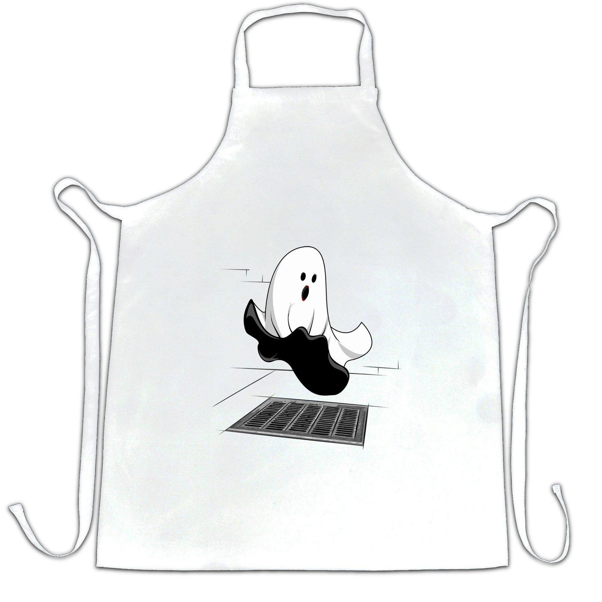 Halloween Chef's Apron Iconic Monroe Ghost Parody