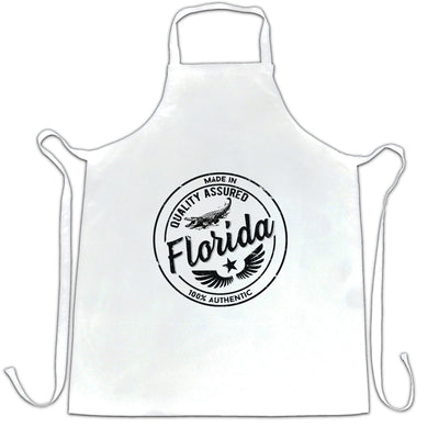 Hometown Pride Chef's Apron Made in Florida Stamp