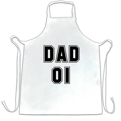 Father's Day Chef's Apron Dad, 01 Number One Slogan