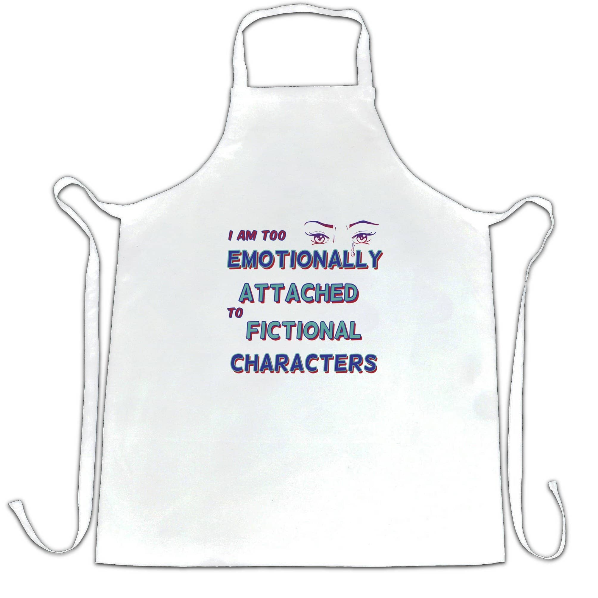 Novelty Chef's Apron Too Attached To Fictional Characters
