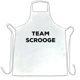 Novelty Anti-Christmas Chefs Apron Team Scrooge Slogan