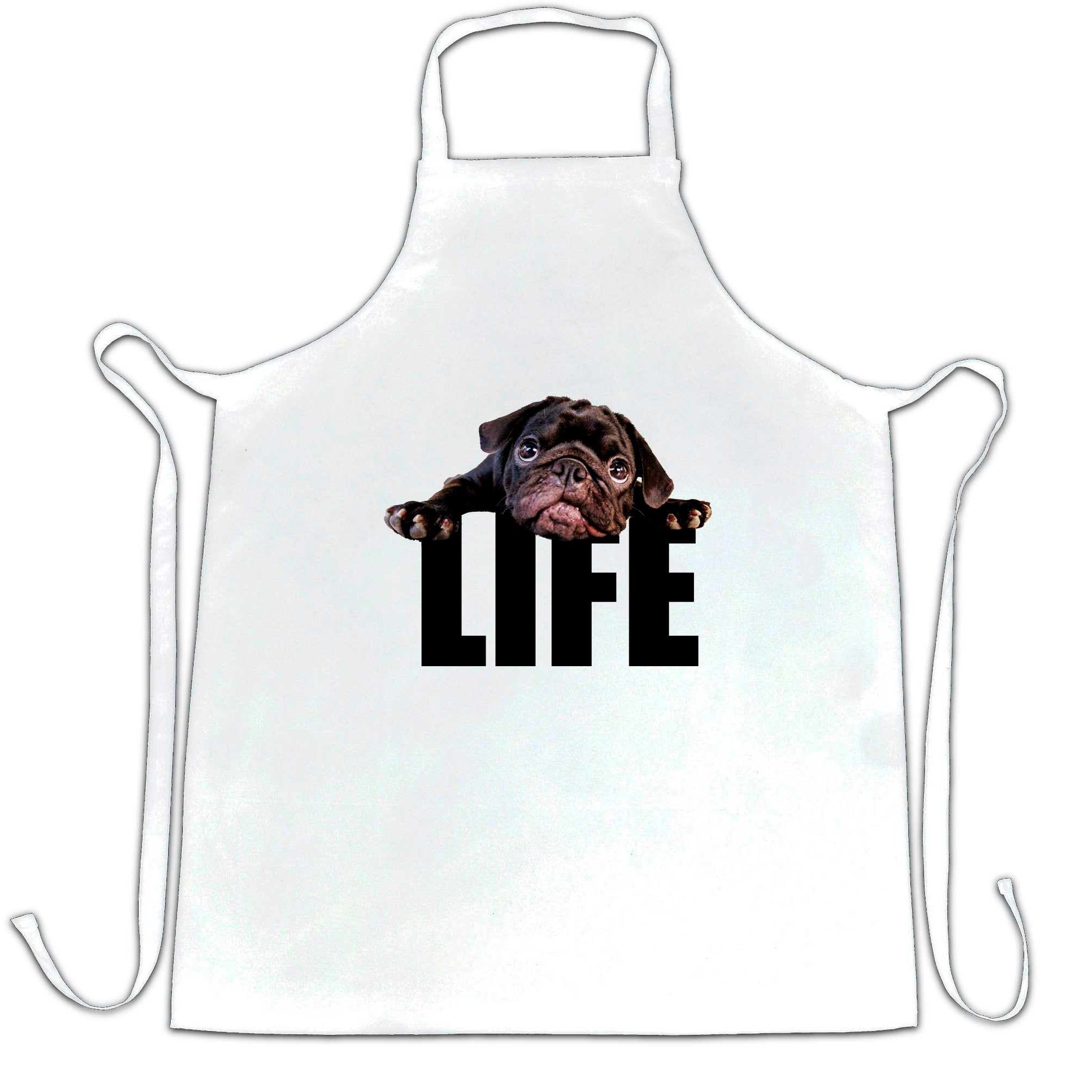 Cute Dog Chef's Apron Pug Life Puppy