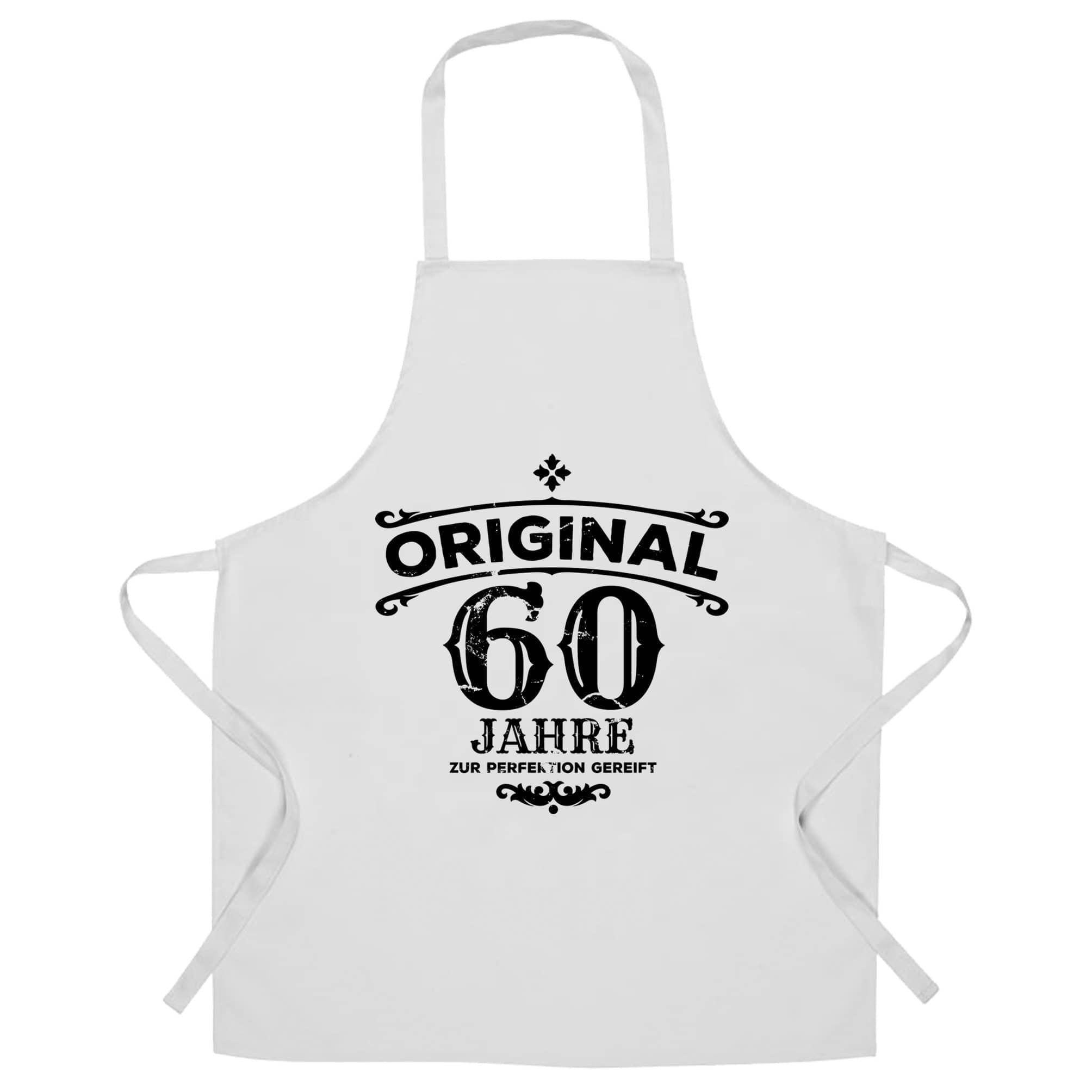 60th Birthday Chef's Apron Original Aged 60 Sixty Years