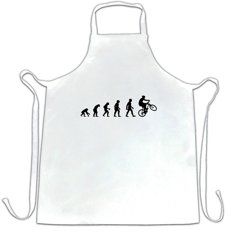 Sports Chefs Apron Evolution Of A Mountain Biker
