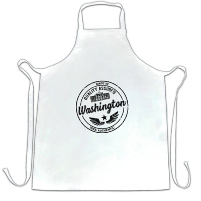 Hometown Pride Chef's Apron Made in Washington Stamp