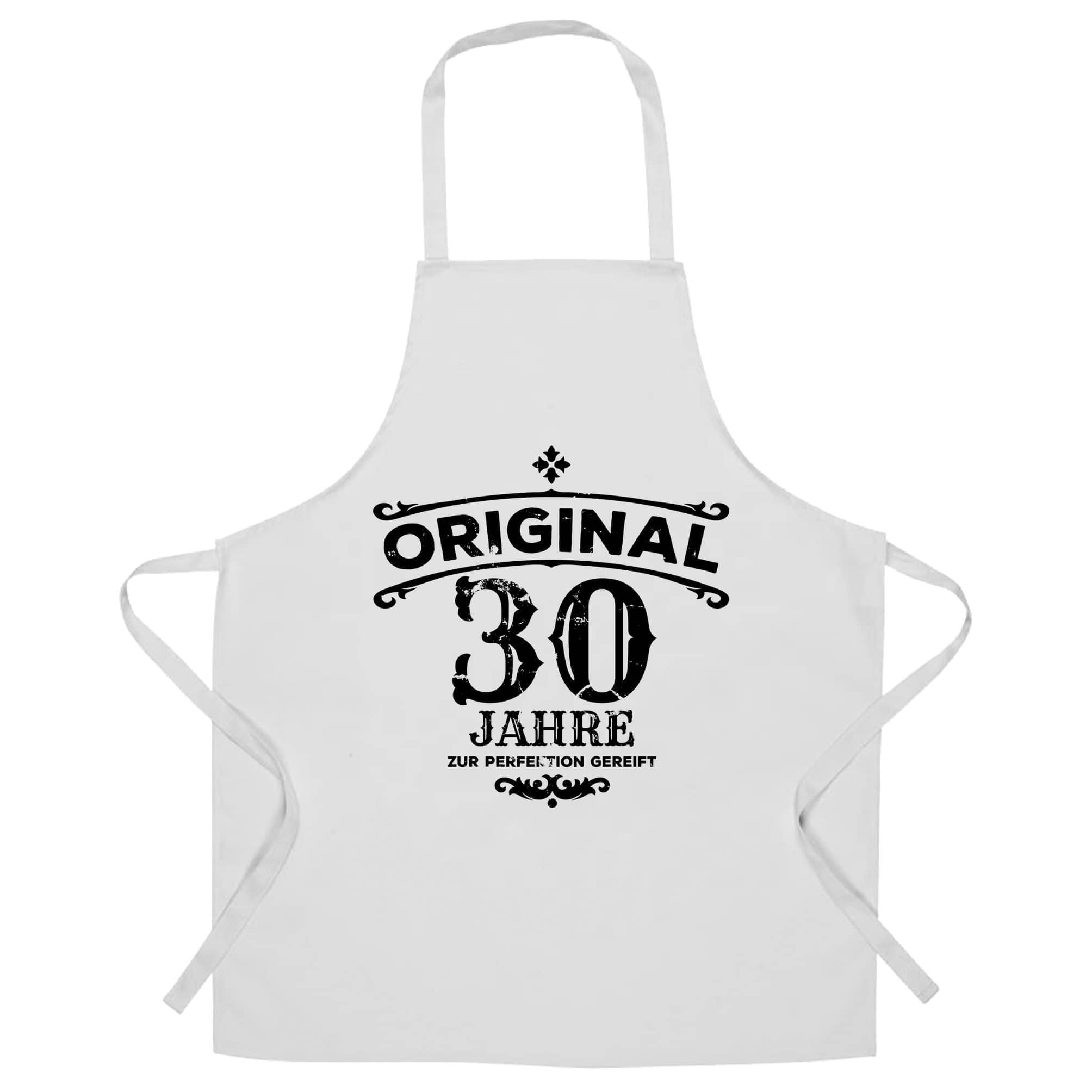 30th Birthday Chef's Apron Original Aged 30 Thirty Years