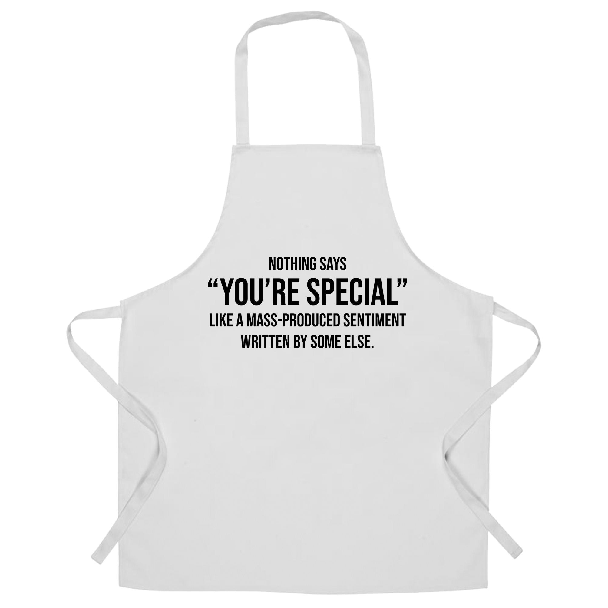 Valentines Day Chef's Apron You're Special Text