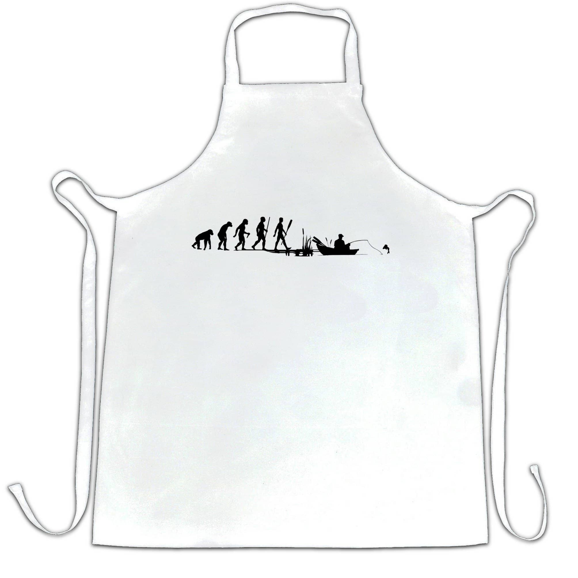 Fishing Chef's Apron Evolution Of An Angler
