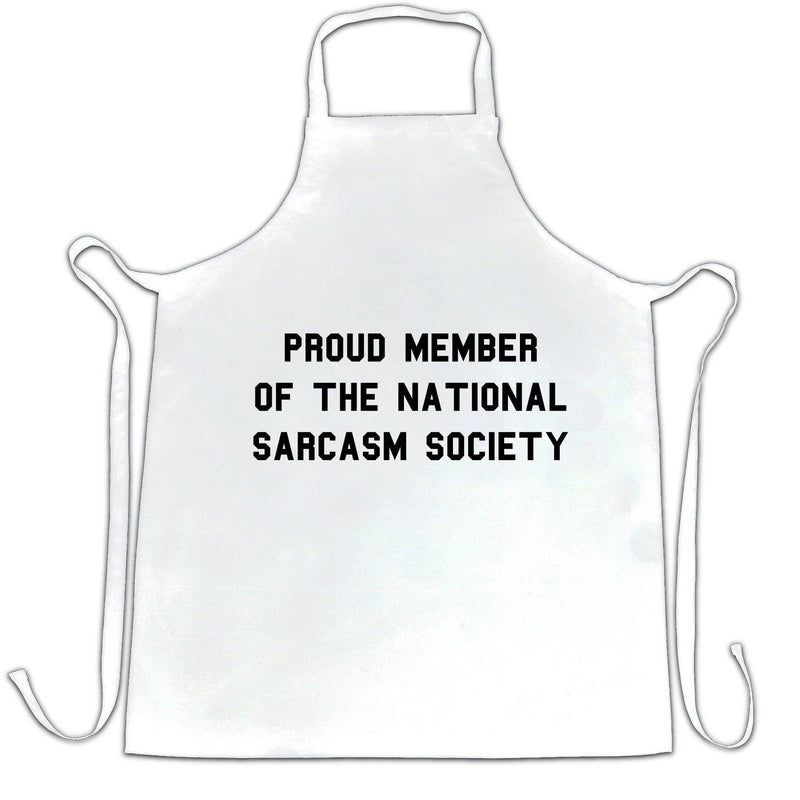 Funny Chefs Apron Proud Member Of The Sarcasm Society