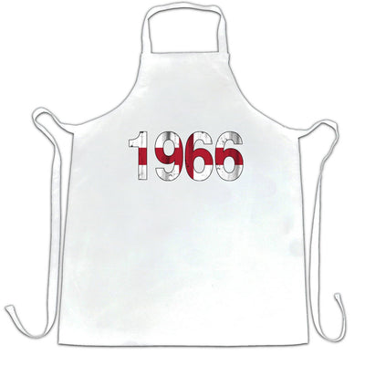 199 Football World Cup Apron in White
