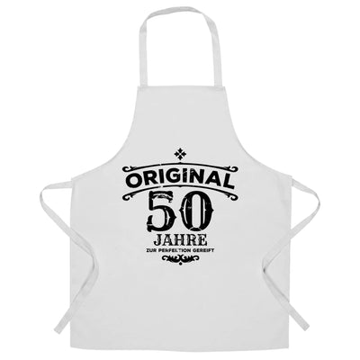 50th Birthday Chef's Apron Original Aged 50 Fifty Years